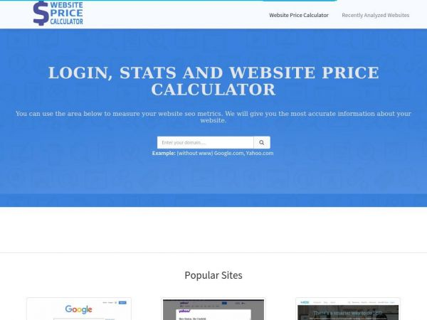 Website-price-calculator.info